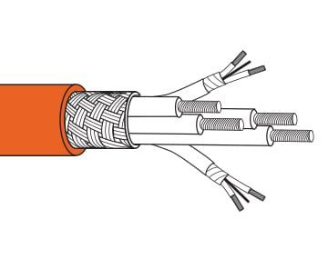 Trex-Onics® Servo Motor Cable