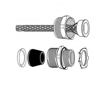 Kord Gard 174 Mesh Cord Grips Tpc Wire